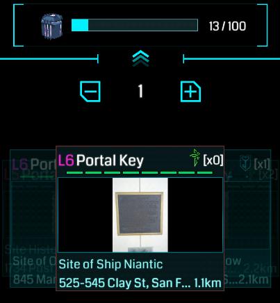 カプセルを活用したポータルキーの収集