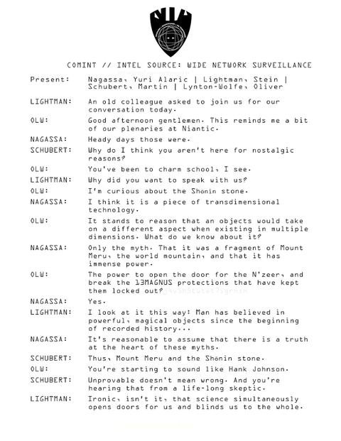 証人ストーンの詳細に関する会合