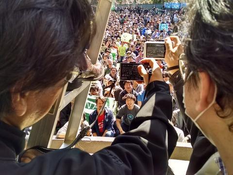 証人アノマリー京都のステージ裏