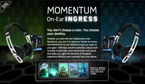 Sennheiser x Ingress