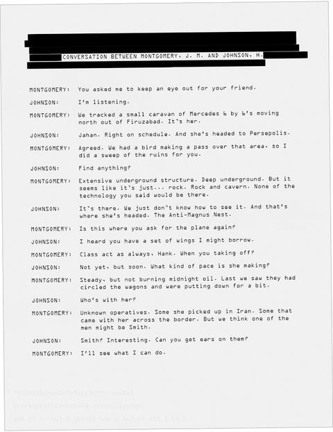モントゴメリとハンク・ジョンソンの会話:地下構造物