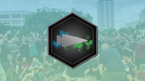GORUCK x INGRESS メダル