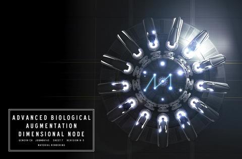 生物学的高度拡張次元接続点