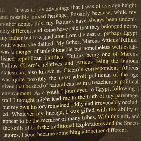 オブシディウスの探検:第三節