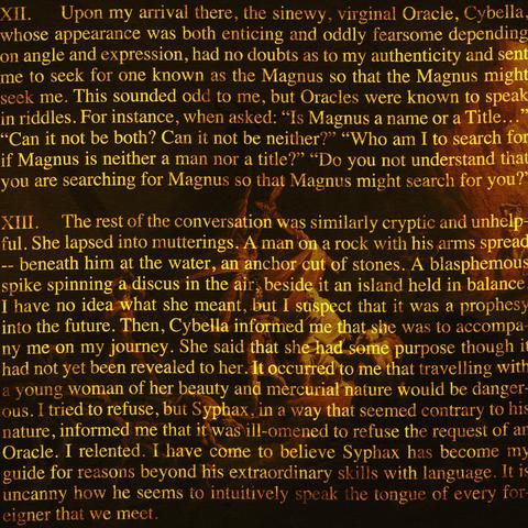 オブシディウスの探検:第十二節・第十三節