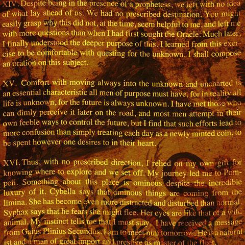 オブシディウスの探検:第十四節~第十六節