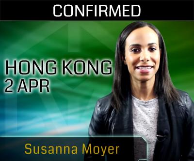 オブシディアン香港へスザンナ・モイヤーが向かう
