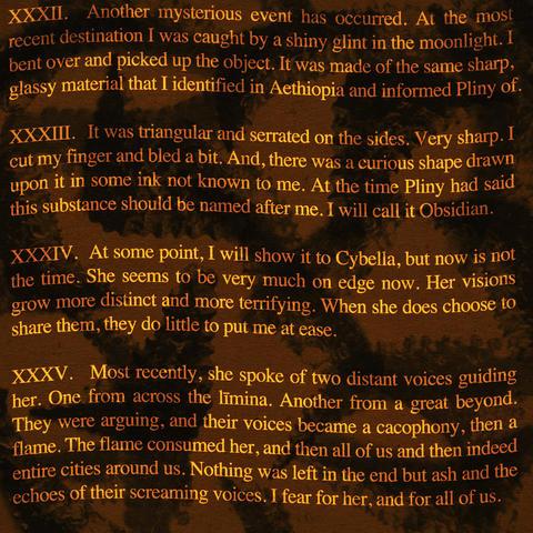 オブシディウスの探検:第三十二節~第三十五節