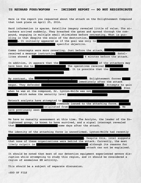 エンライテンド集落襲撃に関する報告書