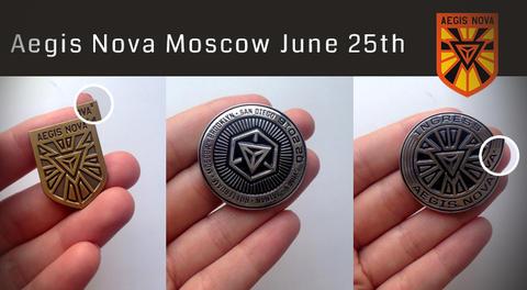 イージス・ノヴァ・モスクワ:サポーターキット同梱のメダル