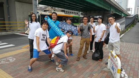 イージス・ノヴァ東京:レジスタンスチーム