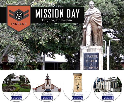 ミッションデイ:ボゴタ・ニュルンベルクの開催告知