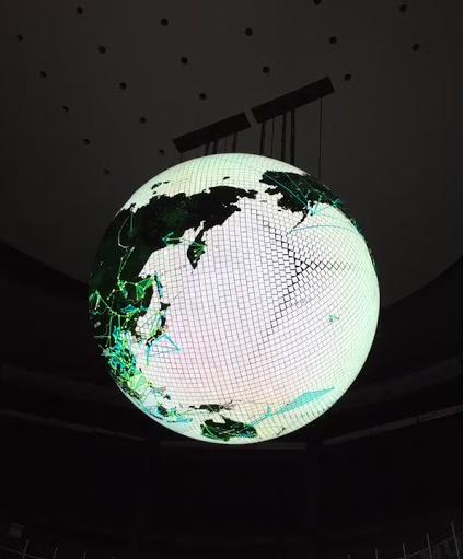 ミッションデイ東京:GeoCosmos 投影スケジュール
