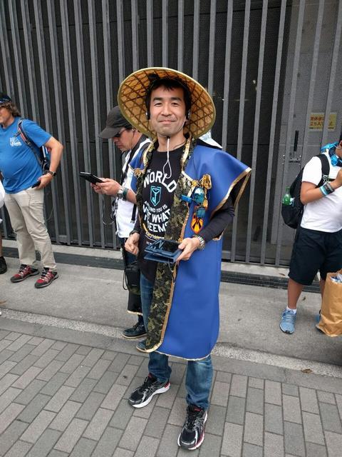 イージス・ノヴァ東京:伝統装束