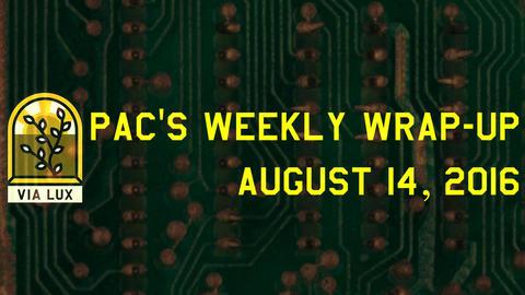 週間総括:2016年08月14日