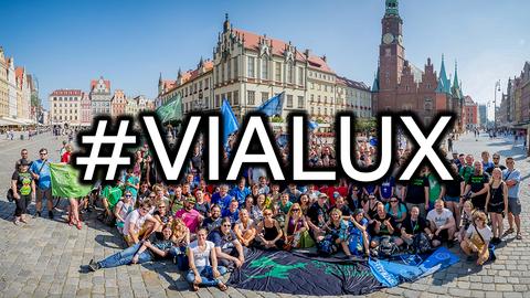 ハッシュタグ#ViaLuxの活用