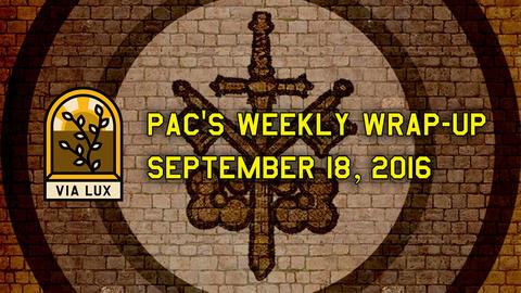 週間総括:2016年09月18日