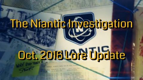 ナイアンティック調査:2016年10月の状況変化