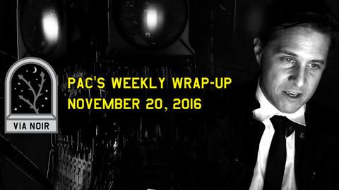 週間総括:2016年11月20日