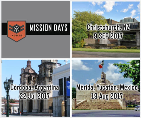 ミッションデイ:コルドバ・メリダ・クライストチャーチの開催告知