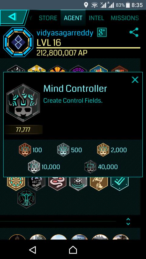 マインドコントローラー実績の紹介