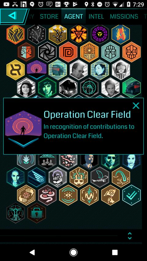 オペレーション・クリアフィールド:新メダル