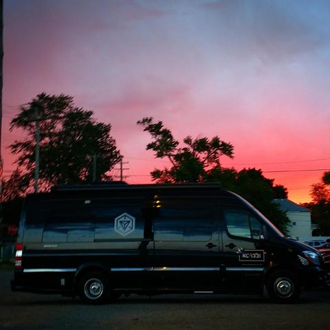NL1331:ミシガンの夕陽