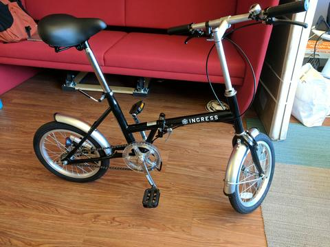 エックスエム駆動の自転車