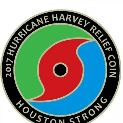 ハリケーン・ハーベイ救援コインの紹介