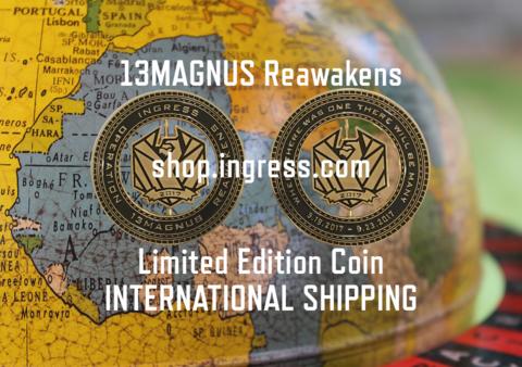 イングレス公式ショップ:国際発送開始