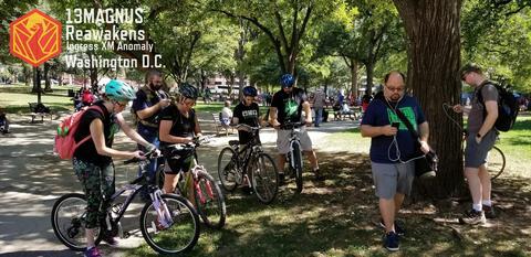 サーティンマグナス・リアウェイクン・ワシントンD.C.の様子:自転車チーム