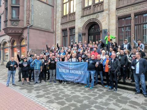 NL1331ヨーロッパ・リウェイクン・ハノーファー:集合写真