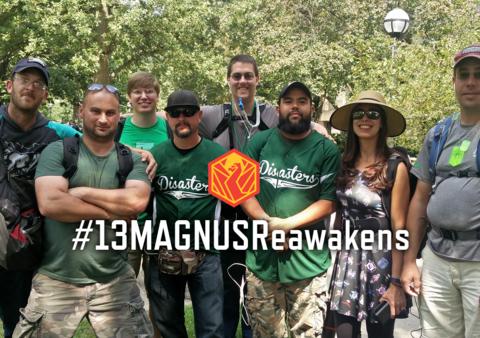 ハッシュタグ#13MAGNUSReawakensの活用について