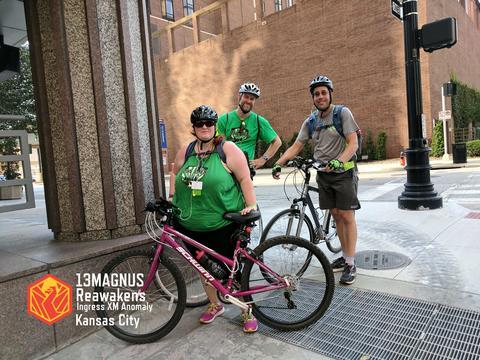 サーティンマグナス・リアウェイクン・カンザスシティの様子:自転車チーム
