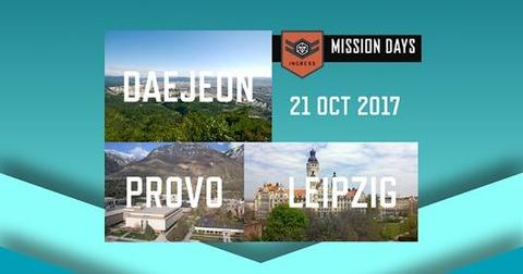 ミッションデイ・テジョン・プロボ・ライプツィヒの開催