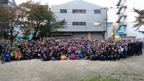 オペレーション・クリアフィールド大阪:集合写真