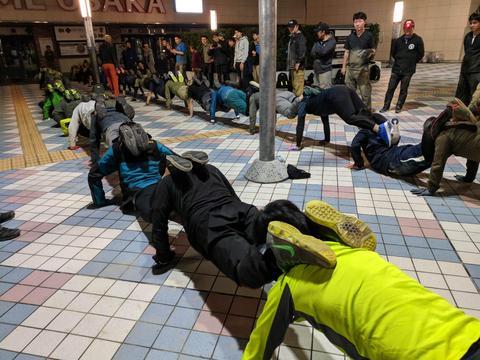 ステルスオプス大阪:第2競技にレジスタンスが勝利
