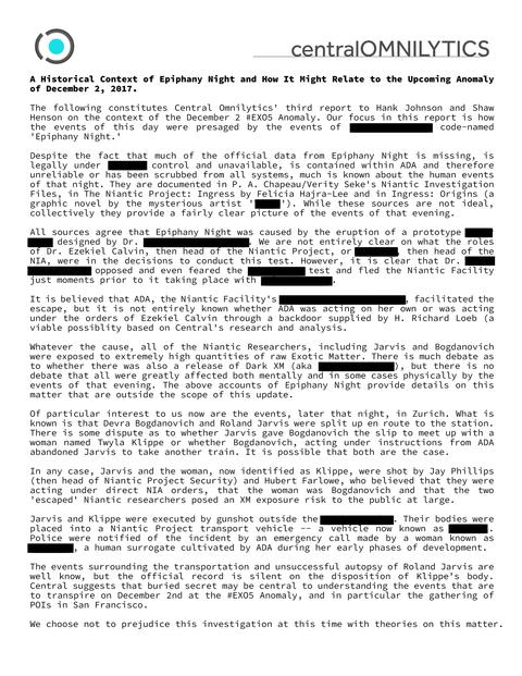 アノマラスイベント報告書(3)