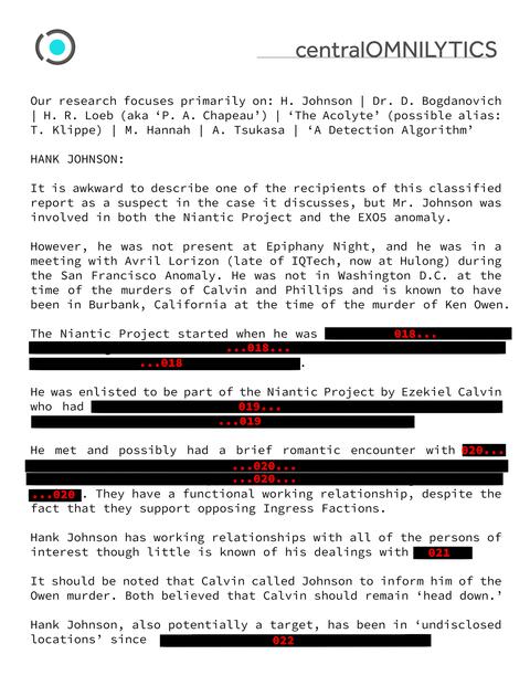 黒塗りされた報告書(3)
