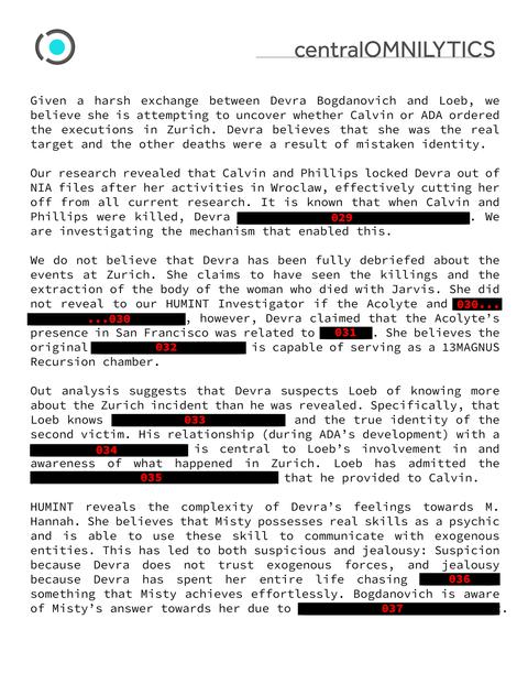 黒塗りされた報告書(5)