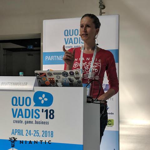 クオバディス:アン・ビュッテンミュラーの講演