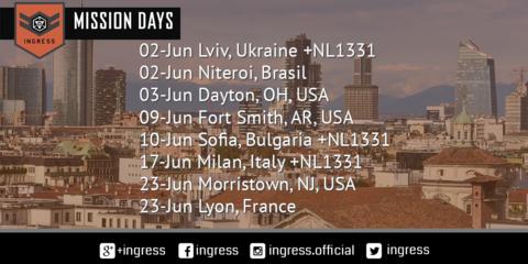 ミッションデイ:2018年06月の開催予定
