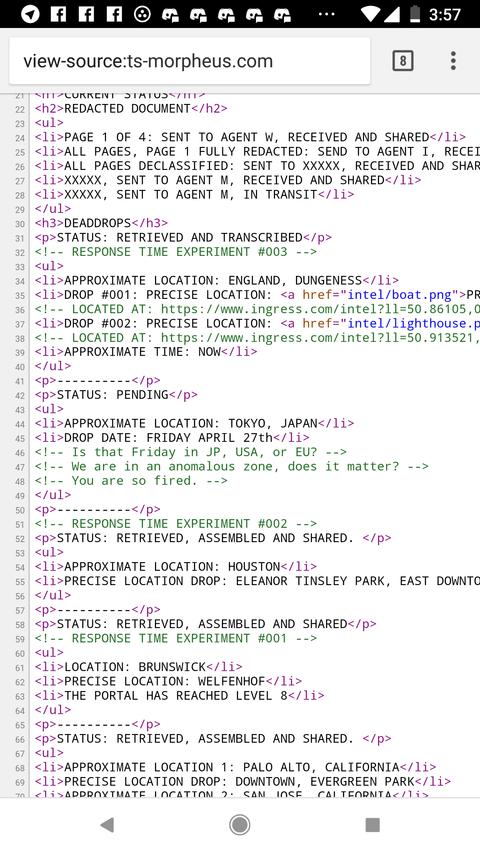 モルフェウス(89):東京調査は明日