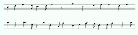 モルフェウス(200):ガンマの楽譜