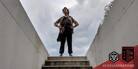 カサンドラプライム:キャリーの立姿