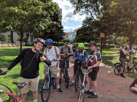 カサンドラプライム・フィラデルフィア:バイクチームの様子