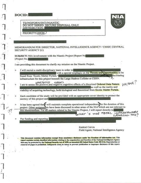 機密情報:脅威と機会