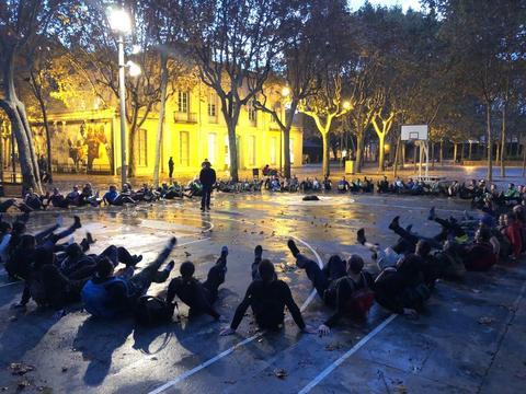 ステルスオプス・バルセロナ:開幕