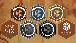 6周年記念メダル:配信