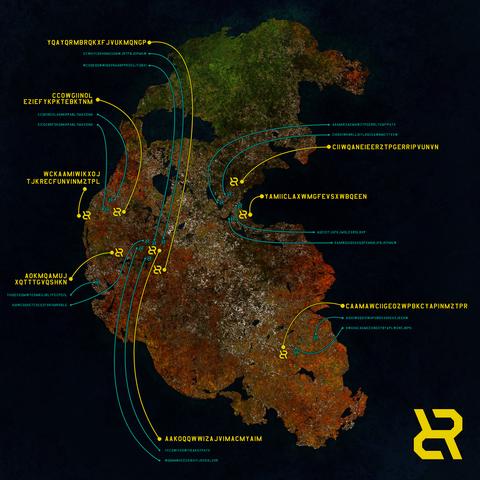 リカージョン:奇妙な地図